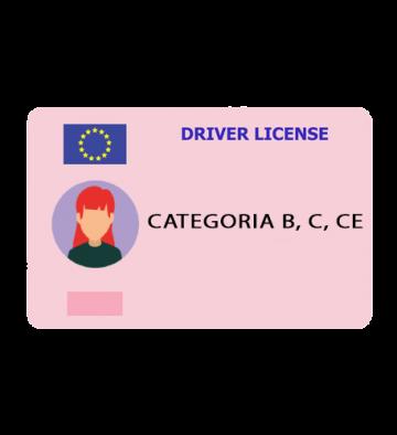 Categoria B, C, CE